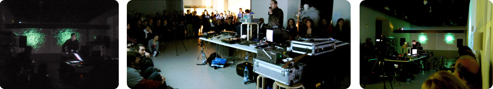 Lissajous Talk and Concert